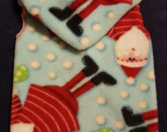 Dog Santa Dot Snuggly - 3 Sizes