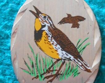 Bird Genuine Birds Pewter Pendant