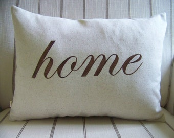 home pillow / espresso / home decor / housewarming gift / housewarming / cushion / jennifer helene home