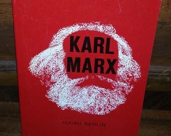 Karl Marx by Isaiah Berlin Vintage Paperback Book