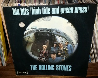 The Rolling Stones Big Hits (High Tide And Green Grass) Vintage Vinyl Record