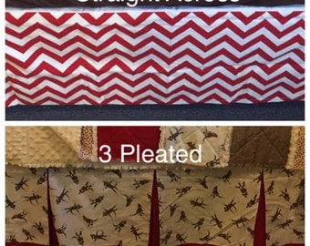 Custom Crib Toddler Bed Skirt Add-On