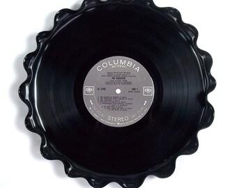 Simon & Garfunkel Vinyl Record Tray / Platter Vintage LP Album 1968 (The Graduate) Gray Label Graduation Party
