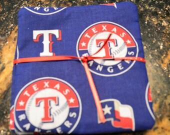 Texas Rangers Coasters