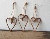 Rustic Little Hearts