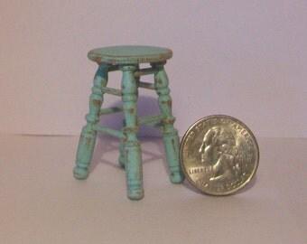 Miniature Stool   1:12 scale