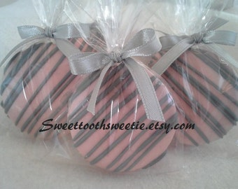 Pink and Gray Wedding Favors Wedding Gifts Bridal Shower
