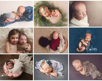 SALE Newborn Photo Prop Wraps, Stretch Wraps, Buy 4 Get 1 Wrap FREE Stretch Wrap Newborn Props, Baby Props, Props for Babies, Cheesecloth