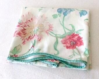 Vintage Laura Ashley Single Pillowcase Scalloped Edge