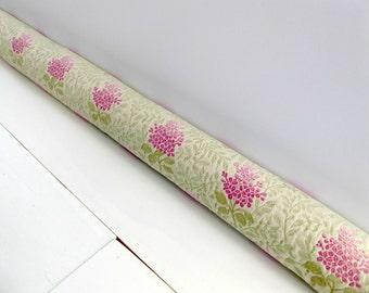 Draft Stopper -  Door Snake - Cottage Chic Decor - Unique Gift - Modern Home Decor - Pink Floral. E18244