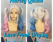 Harley Quinn Suicide Squad Movie Lace Front Costume Wig - A True Enchantment Original