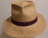6 3/4 - Vintage Summer Panama Men's Hat