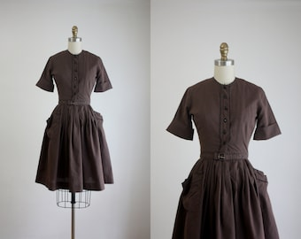 1950s frolic dress