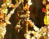 Golden Bees - a Sunshower Chandelier