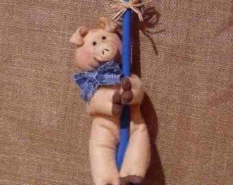Pig Wooden Spoon Kitchen Decoration Wall Hanging