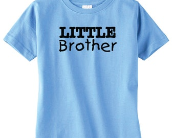 Little Brother Tshirt, Shirt Available For Big, Bigger, Biggest, Baby, Little, Middle Brother And Sisters, Baby Shower Gift, New Baby,