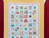 Farm Girl Vintage Quilt Sewing Softcover Book