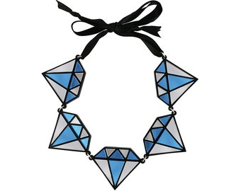 Diamonds Are Forever Necklace