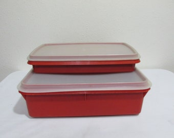 Tupperware Deli and Snack Keepers Set of 2