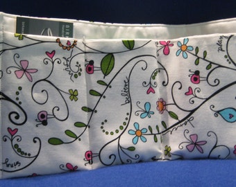 Jumbo size Floral Purse Organizer, purse Insert, handmade,handbags, bags and purses