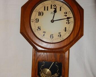 VINTAGE WELBY PENDULUM Regulator wall clock