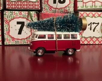 VW Bus Christmas Tree Ornament