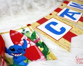 Lilo and Stitch Banner - Party Banner | Hanging Banner | Beach | Surfboard