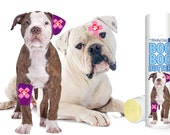 American Bulldog Boo Boo Butter Handcrafted Organic Balm for Dog's Discomforts .50 oz Tube with American Bulldog label in gift bag