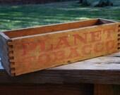 Vintage Wooden Tobacco Box, Lorillard Co,Middletown, O.