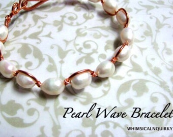 PEARL WAVE BANGLET