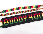 Made-to-order Rasta bracelet set