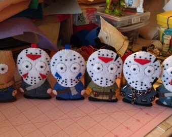 Jason Voorhees from Friday the 13th Parts 2,3,5,6,7 and 8!