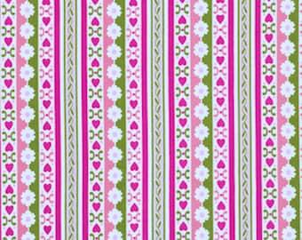 Free Spirit Fabric-Jennifer Paganelli -CIRCA-BRADLEE-GREEN PWJP074 1 Yard Cut