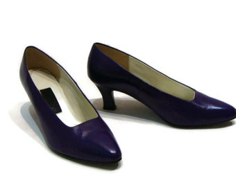 low purple heels – Etsy UK