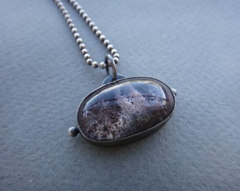 Lodolite Stone Miniature Coral Aquarium Necklace