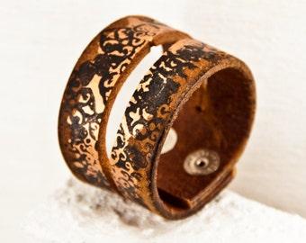 2017 Festival Jewelry Leather Cuffs Wristbands - Eco Friendly Bracelets - Jewelry Trends 2017