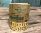 30% OFF!!!!! Tim Holtz Tissue Tape - Passport- 3 Rolls 10 Yards Each