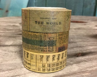 30% OFF!!!!! Tim Holtz Tissue Tape - Passport- 3 Rolls 10 Yards Each