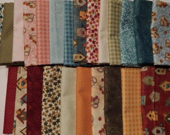 NEW Garden Days Spring Fabric Bundle Quilt Craft Fat Quarter Bundle- The Full Line