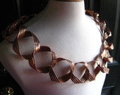 Large Cranach Style open link Chain in Copper - Custom Order