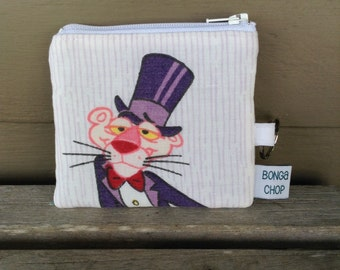 Pink Panther Mini Wallet with ID Holder Recycled