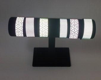 Reflective Bracelet Cuff