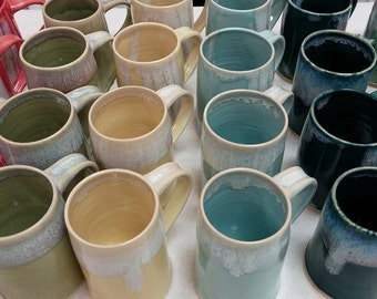 One MUG  Multiple Glaze Colors!