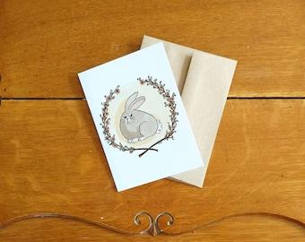 Card/Carte Unhappy bunny