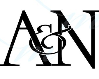 Intertwining Ampersand Monogram - A variations