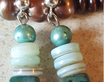 Stormy Seas Collection Earrings