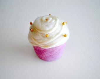Cupcake Pincushion Pink