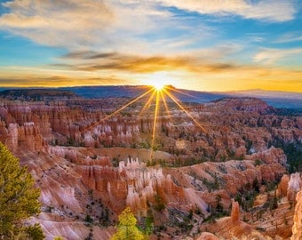 Bryce Canyon National Park Photograph Desert Utah Photo Canyonlands Zion Moab Landscape Southwest USA nat158