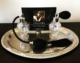 Fancy Perfume Atomizer Black