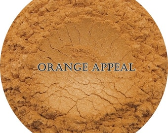 Loose Mineral Eyeshadow-Orange Appeal